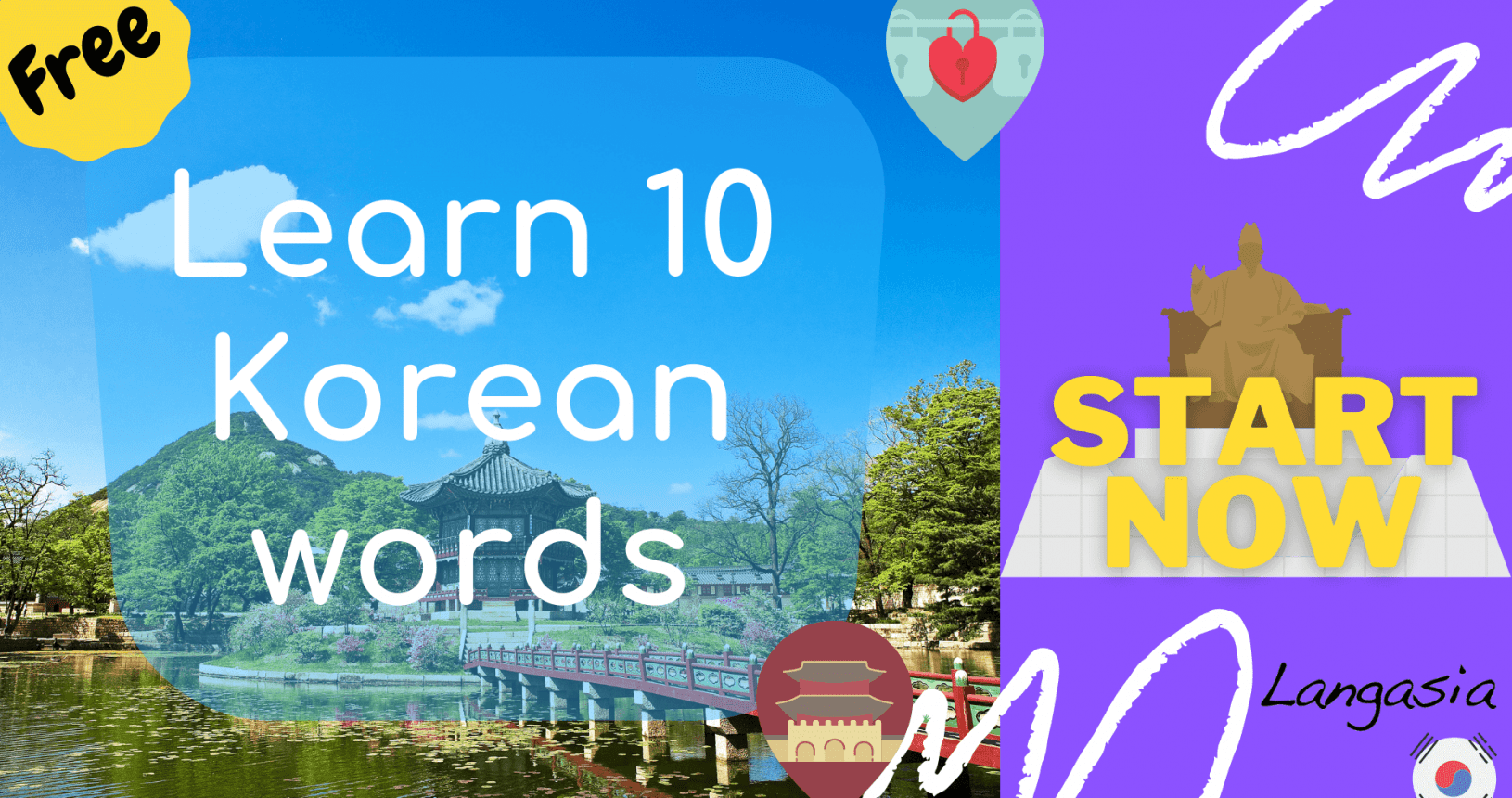 learn 10 korean words